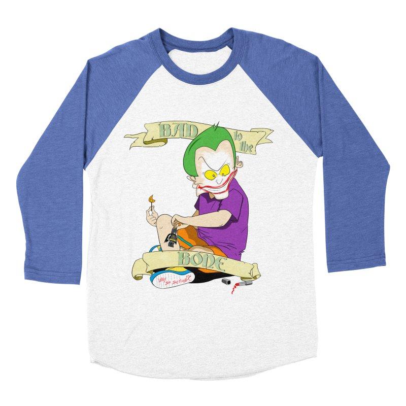 Kid Joker Men's Baseball Triblend Longsleeve T-Shirt by peregraphs's Artist Shop