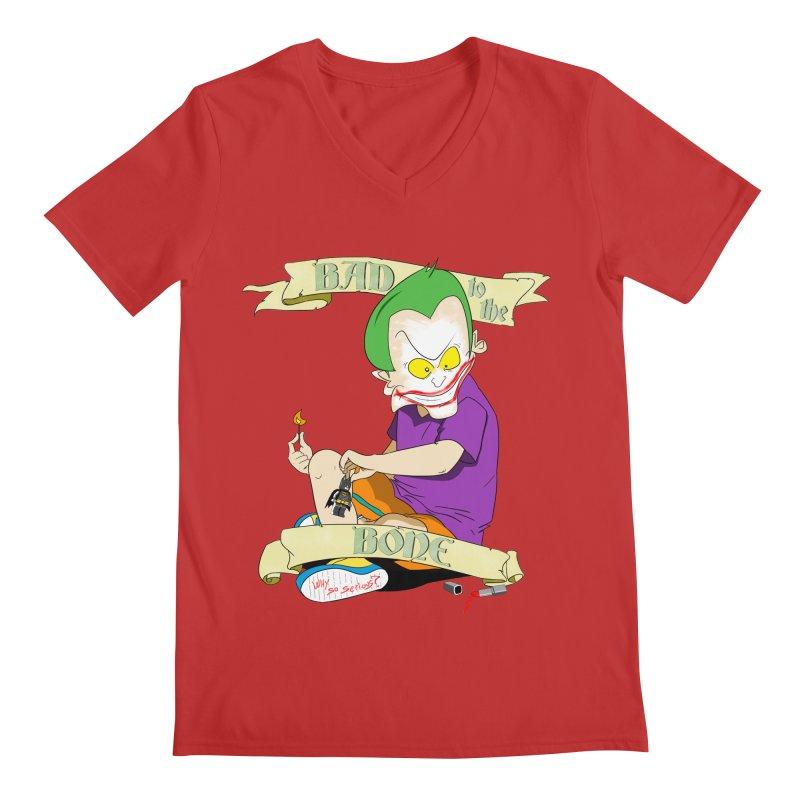 Kid Joker Men's Regular V-Neck by peregraphs's Artist Shop