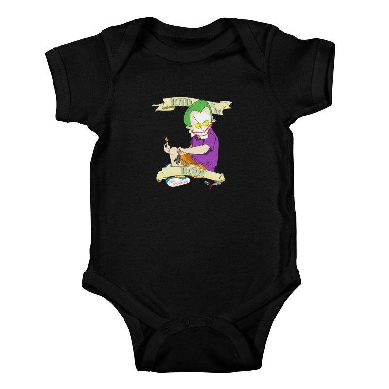 Kid Joker Kids Baby Bodysuit by peregraphs's Artist Shop