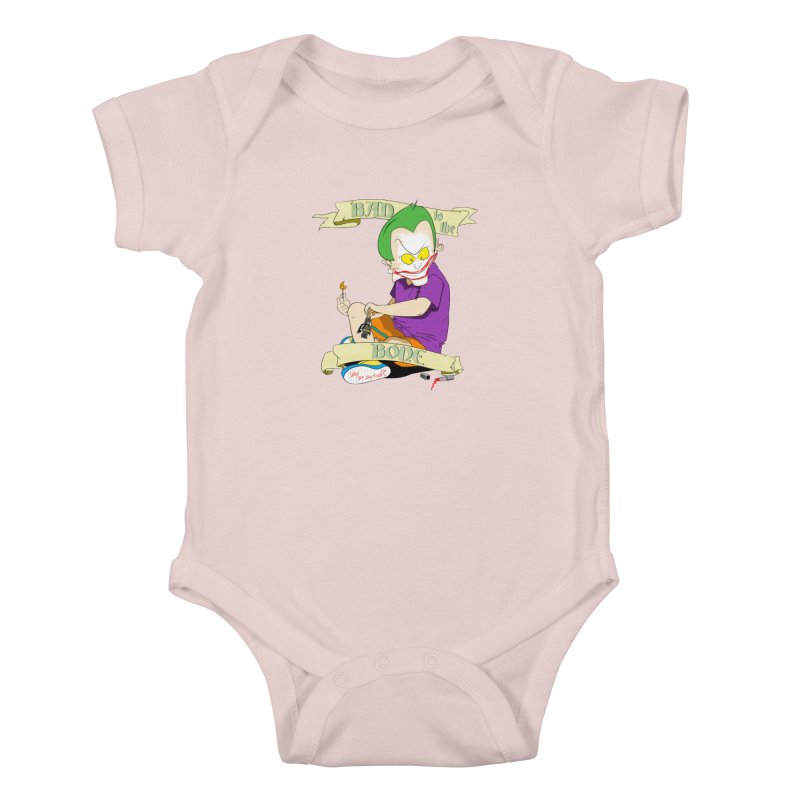Kid Joker Kids Baby Bodysuit by peregraphs's Artist Shop