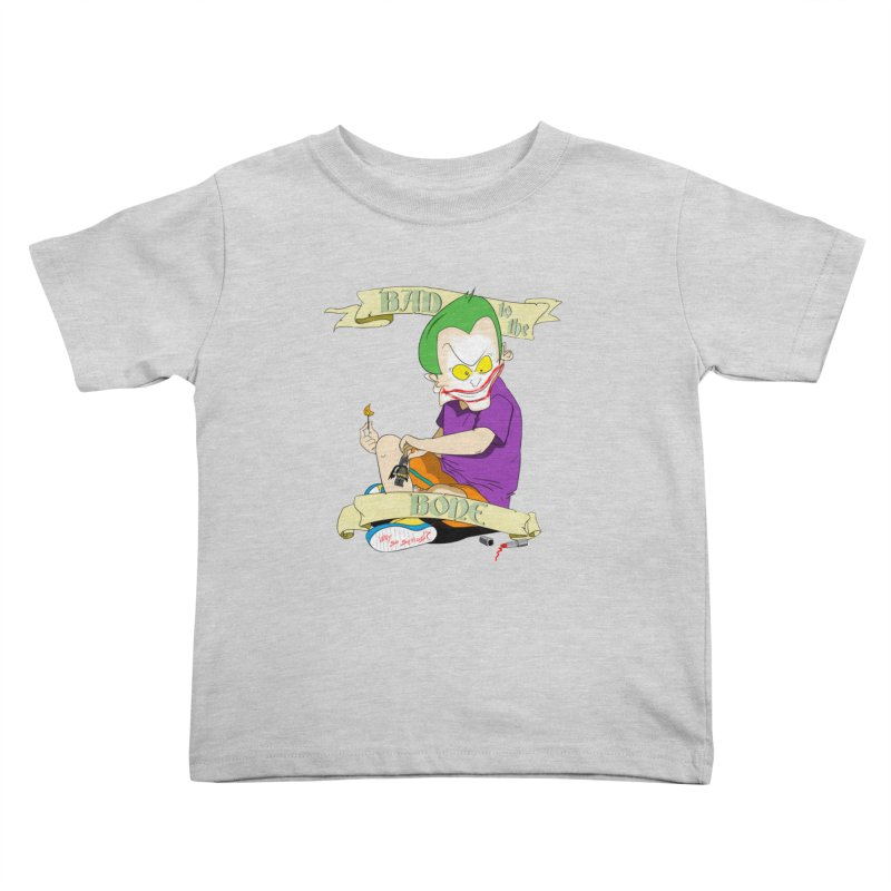 Kid Joker Kids Toddler T-Shirt by peregraphs's Artist Shop