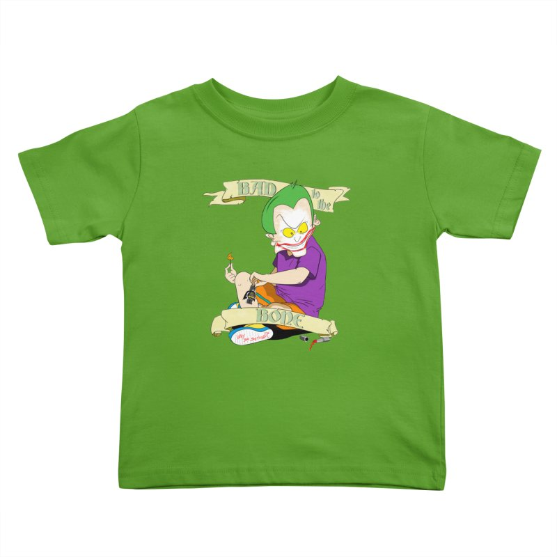Kid Joker in Kids Toddler T-Shirt Apple by peregraphs's Artist Shop
