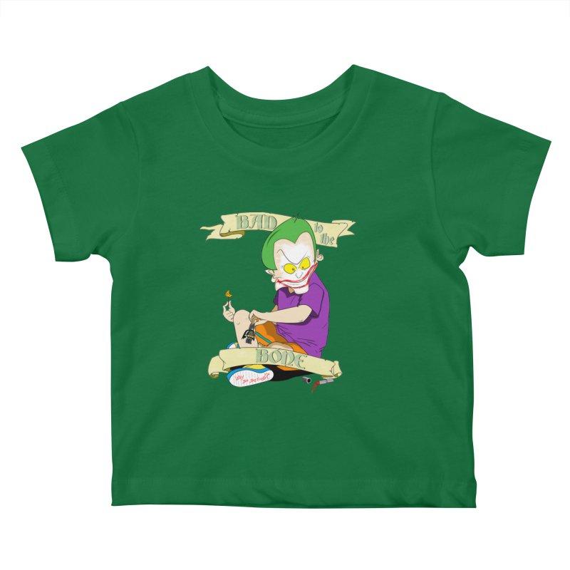Kid Joker Kids Baby T-Shirt by peregraphs's Artist Shop