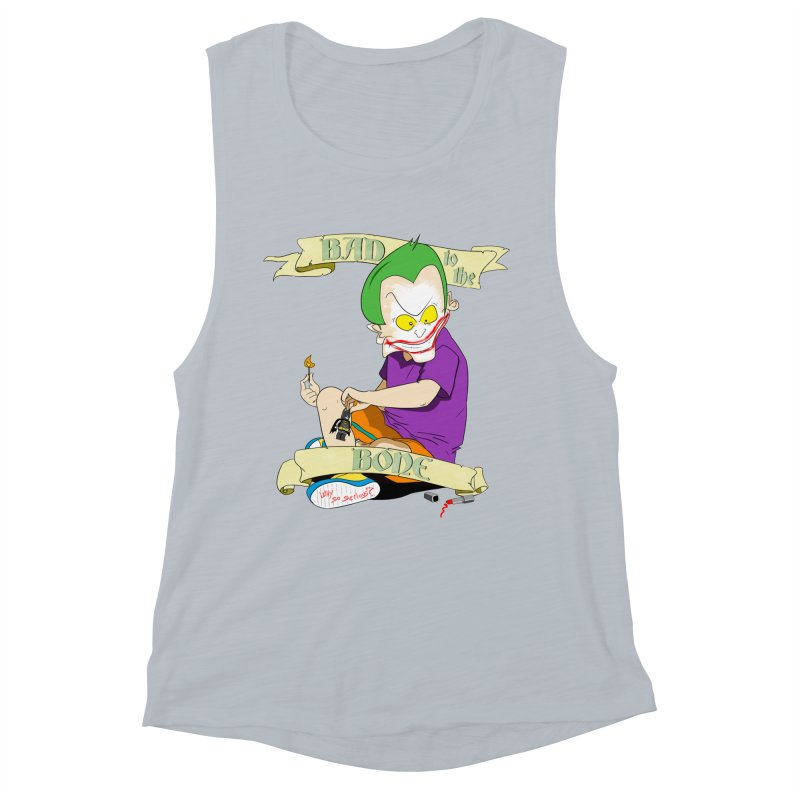 Kid Joker Women's Muscle Tank by peregraphs's Artist Shop