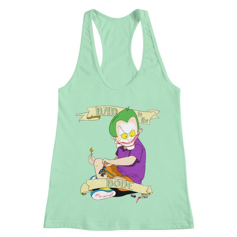 Kid Joker Women's Racerback Tank by peregraphs's Artist Shop