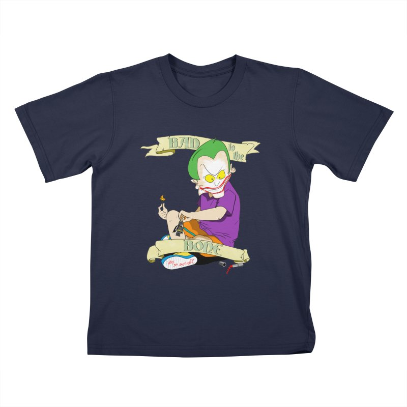 Kid Joker Kids T-Shirt by peregraphs's Artist Shop