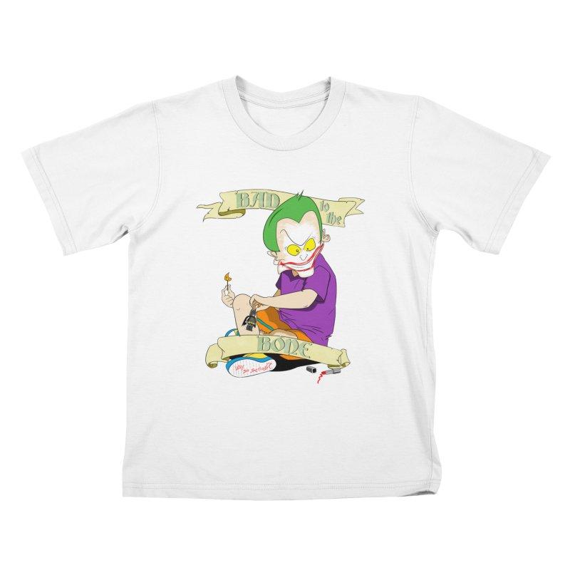 Kid Joker Kids T-Shirt by peregraphs's Artist Shop