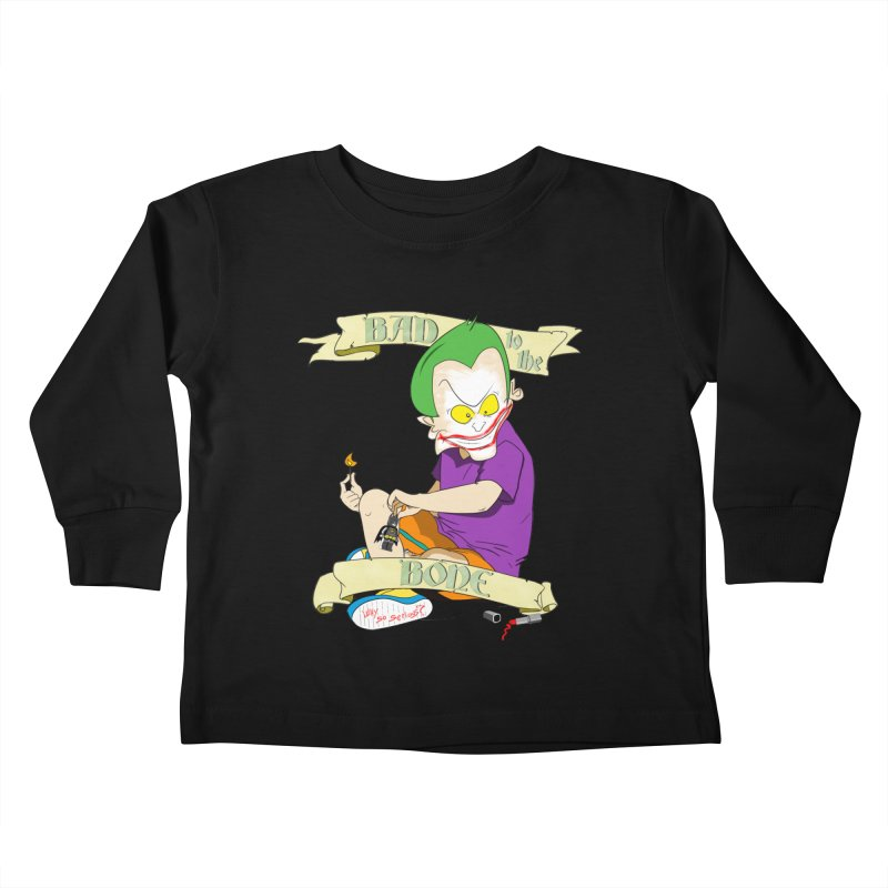 Kid Joker Kids Toddler Longsleeve T-Shirt by peregraphs's Artist Shop
