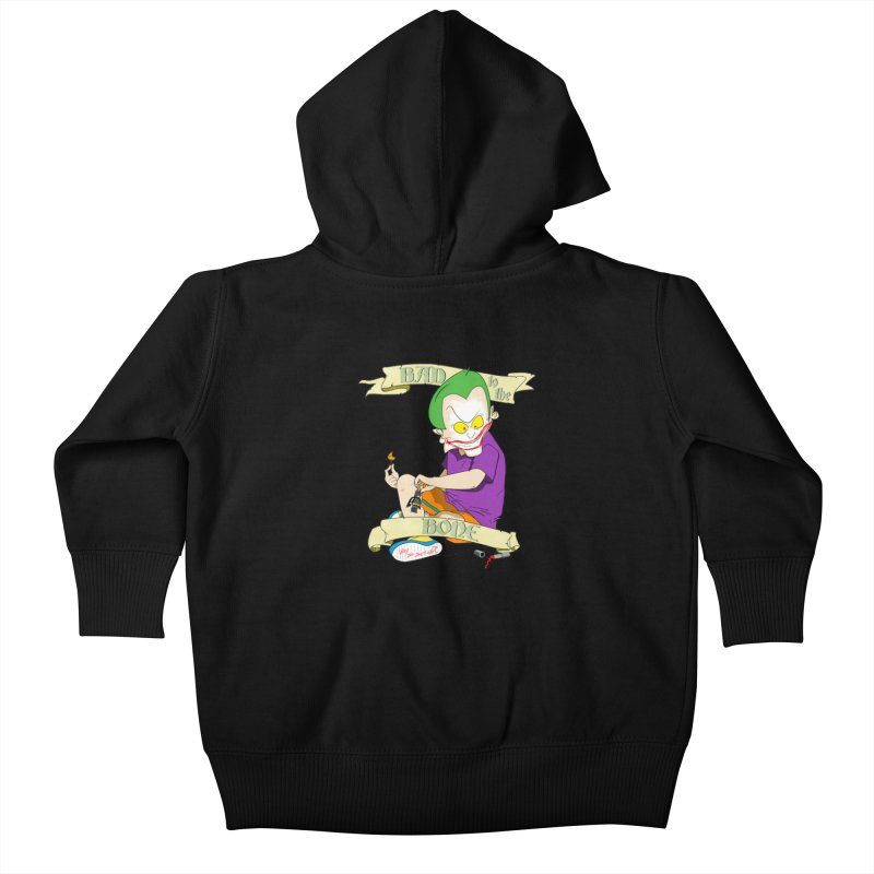 Kid Joker Kids Baby Zip-Up Hoody by peregraphs's Artist Shop