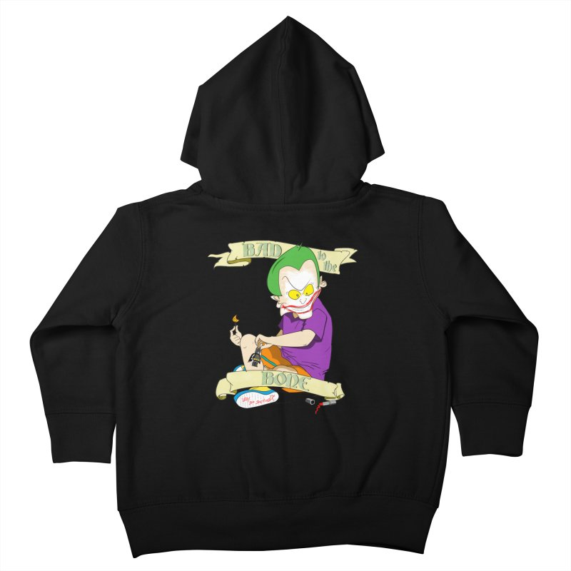 Kid Joker Kids Toddler Zip-Up Hoody by peregraphs's Artist Shop