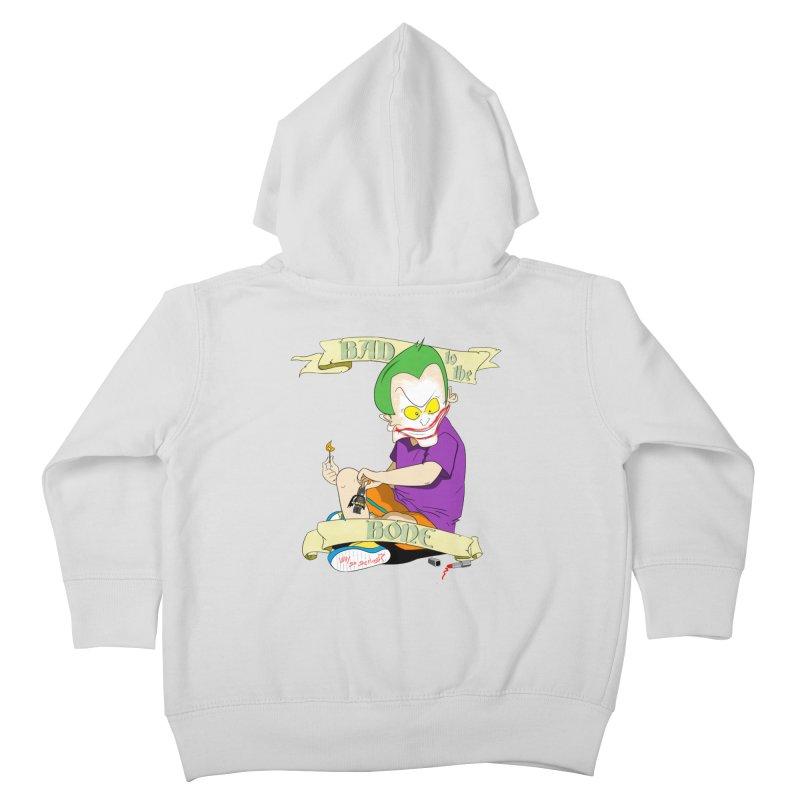 Kid Joker Kids Toddler Zip-Up Hoody by peregraphs's Artist Shop