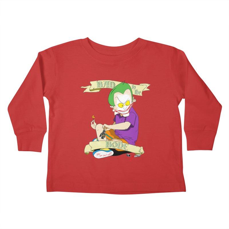 Kid Joker Kids Toddler Longsleeve T-Shirt by peregraphs's Artist Shop