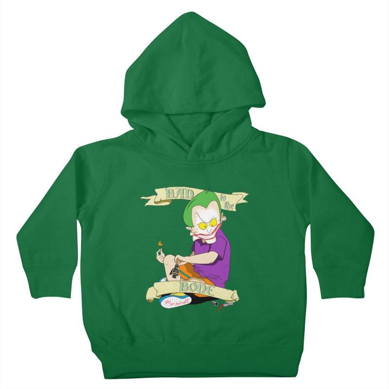 Kid Joker Kids Toddler Pullover Hoody by peregraphs's Artist Shop