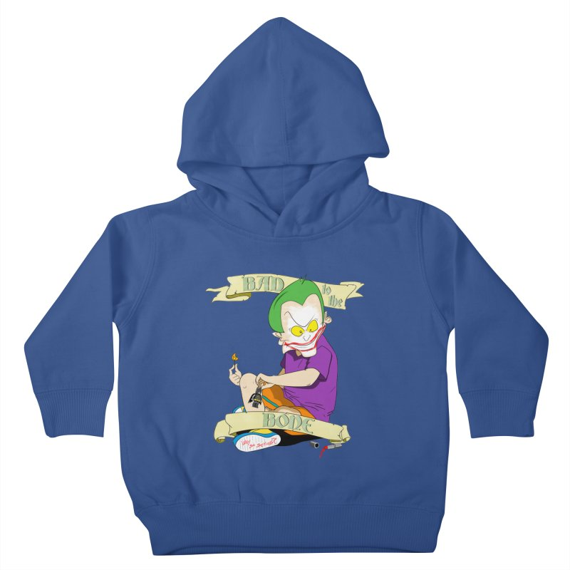 Kid Joker Kids Toddler Pullover Hoody by peregraphs's Artist Shop