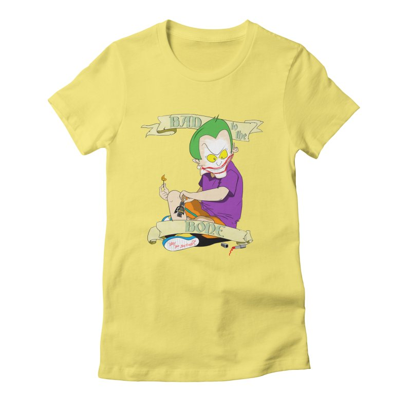 Kid Joker Women's T-Shirt by peregraphs's Artist Shop