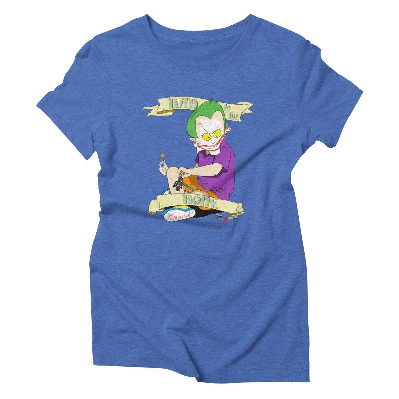 Kid Joker Women's Triblend T-Shirt by peregraphs's Artist Shop