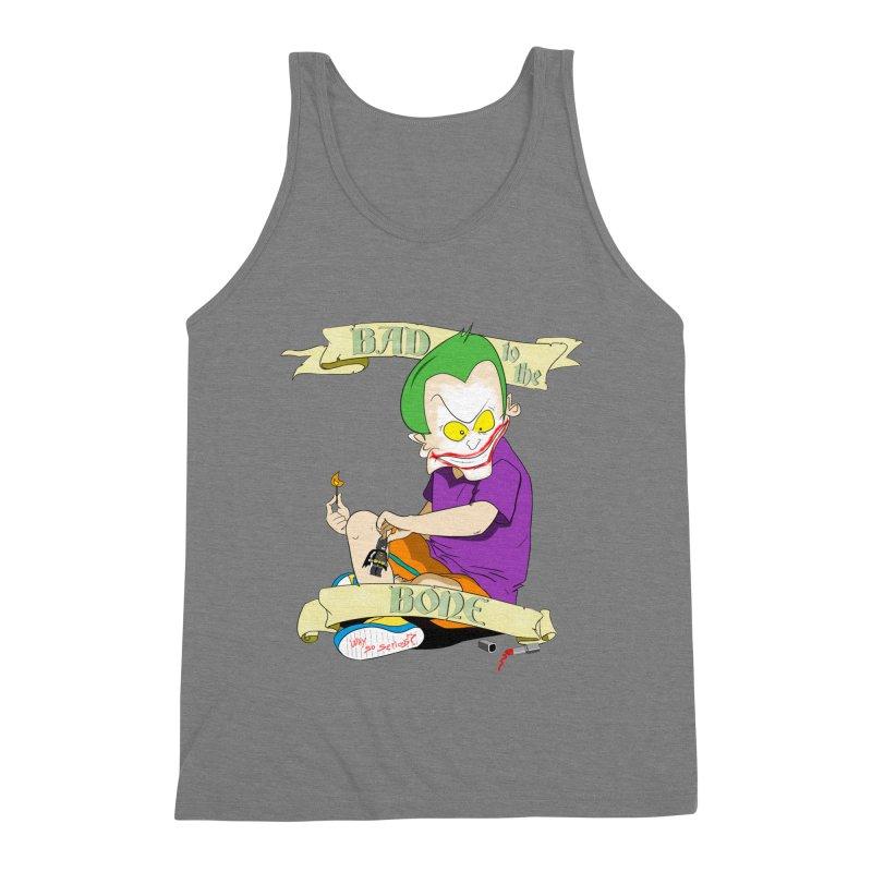 Kid Joker Men's Triblend Tank by peregraphs's Artist Shop