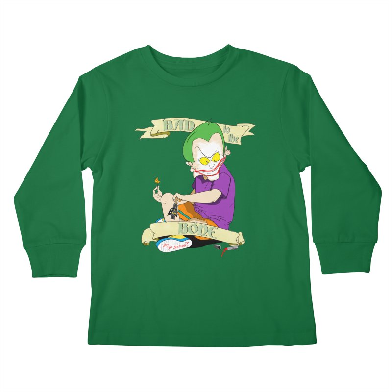 Kid Joker Kids Longsleeve T-Shirt by peregraphs's Artist Shop
