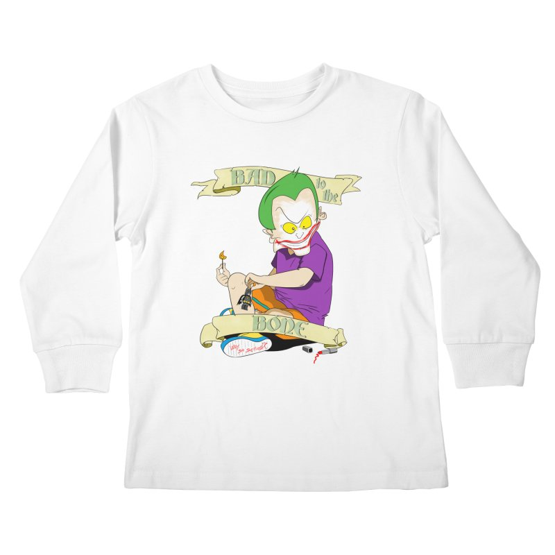 Kid Joker Kids Longsleeve T-Shirt by peregraphs's Artist Shop