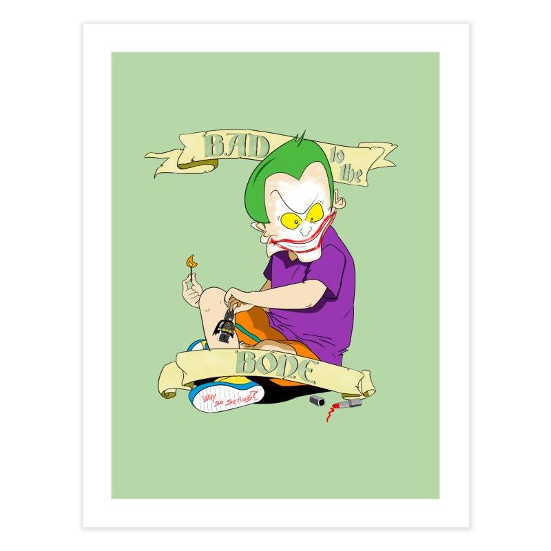 Kid Joker Home Fine Art Print by peregraphs's Artist Shop