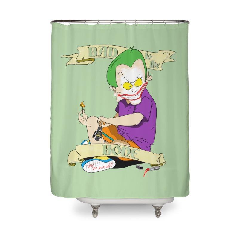 Kid Joker Home Shower Curtain by peregraphs's Artist Shop