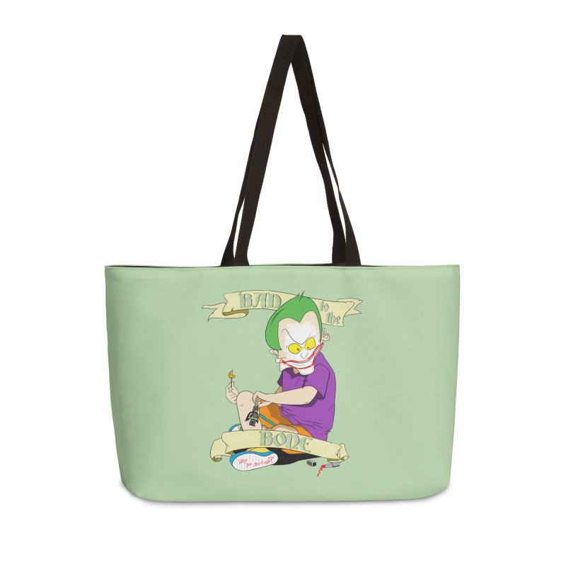 Kid Joker Accessories Weekender Bag Bag by peregraphs's Artist Shop