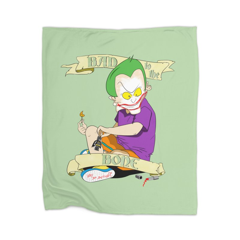 Kid Joker Home Blanket by peregraphs's Artist Shop