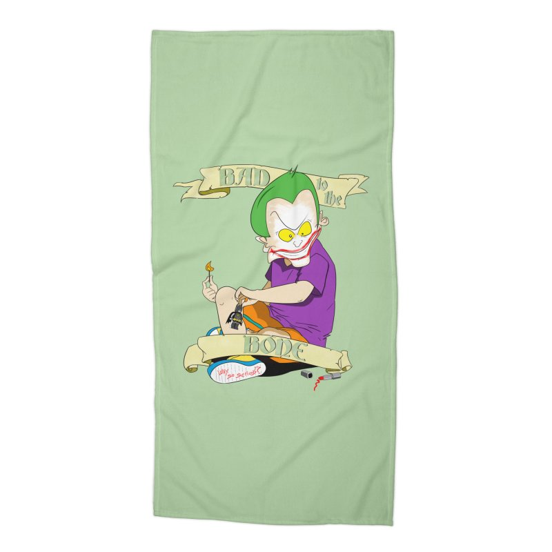Kid Joker Accessories Beach Towel by peregraphs's Artist Shop