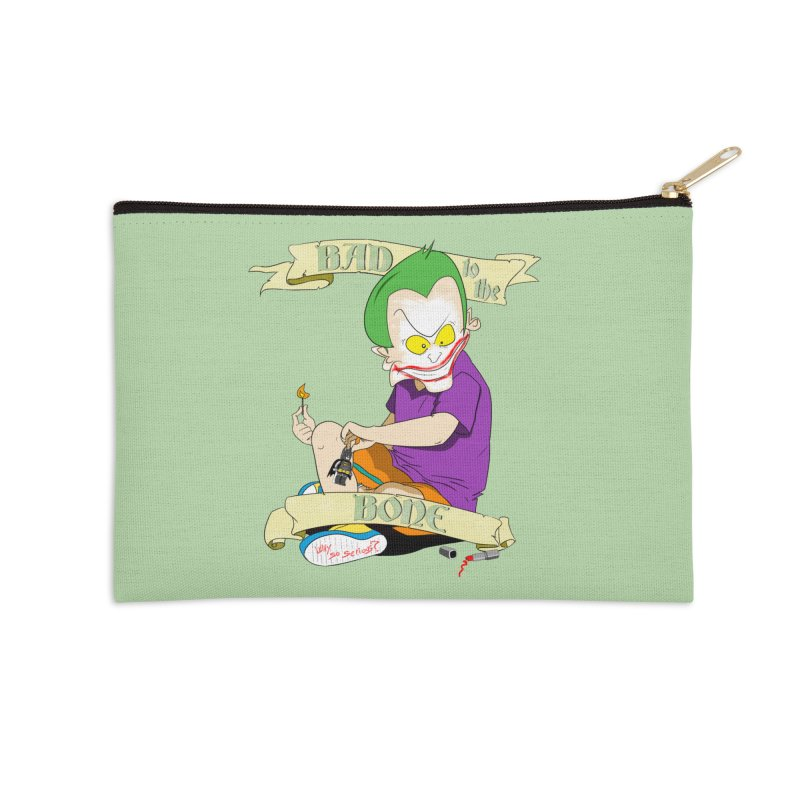 Kid Joker Accessories Zip Pouch by peregraphs's Artist Shop