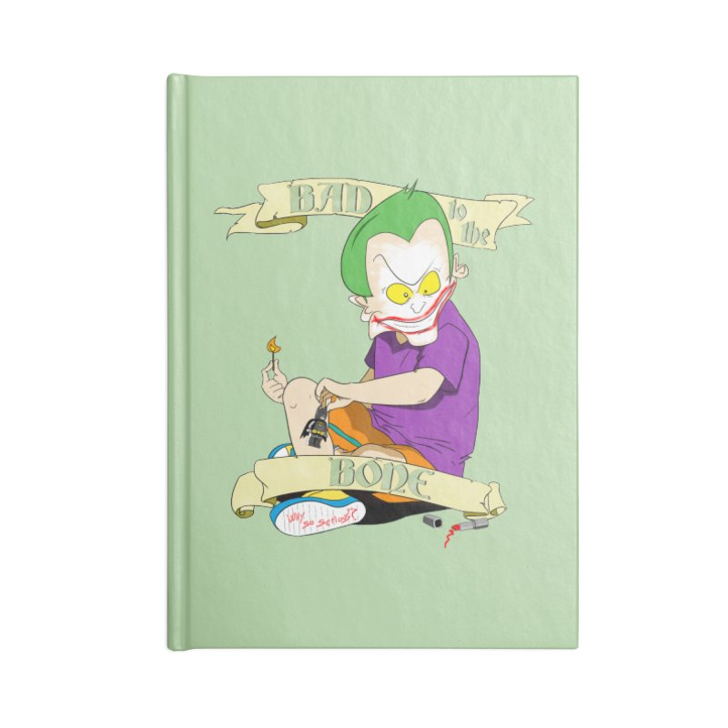 Kid Joker Accessories Lined Journal Notebook by peregraphs's Artist Shop