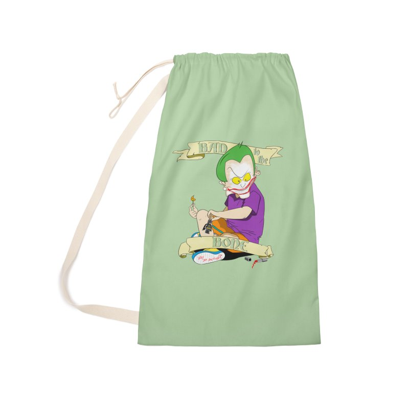 Kid Joker Accessories Laundry Bag Bag by peregraphs's Artist Shop