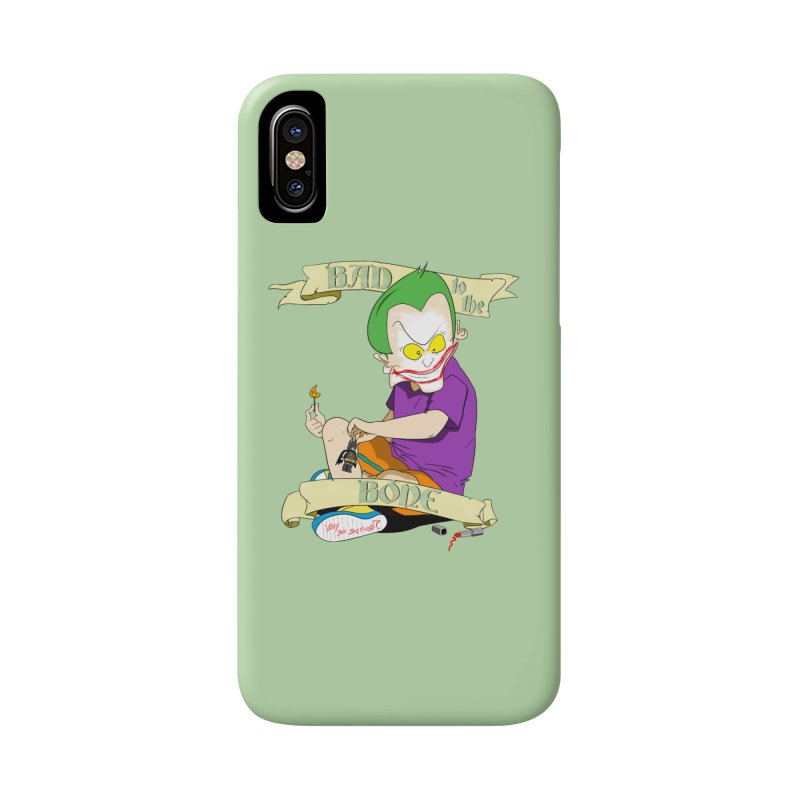 Kid Joker Accessories Phone Case by peregraphs's Artist Shop