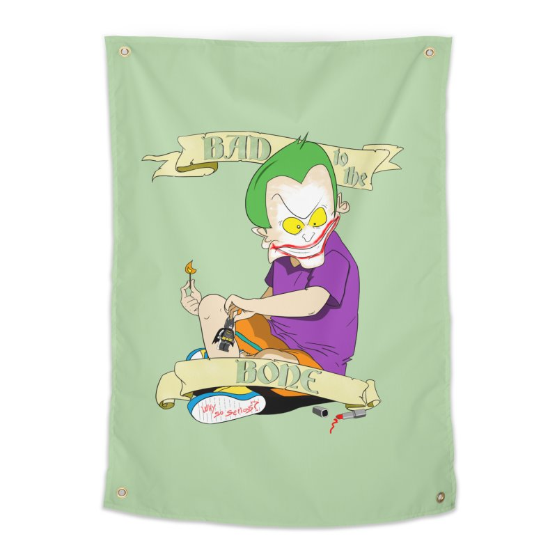 Kid Joker Home Tapestry by peregraphs's Artist Shop