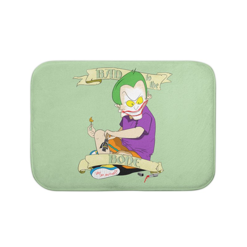 Kid Joker Home Bath Mat by peregraphs's Artist Shop