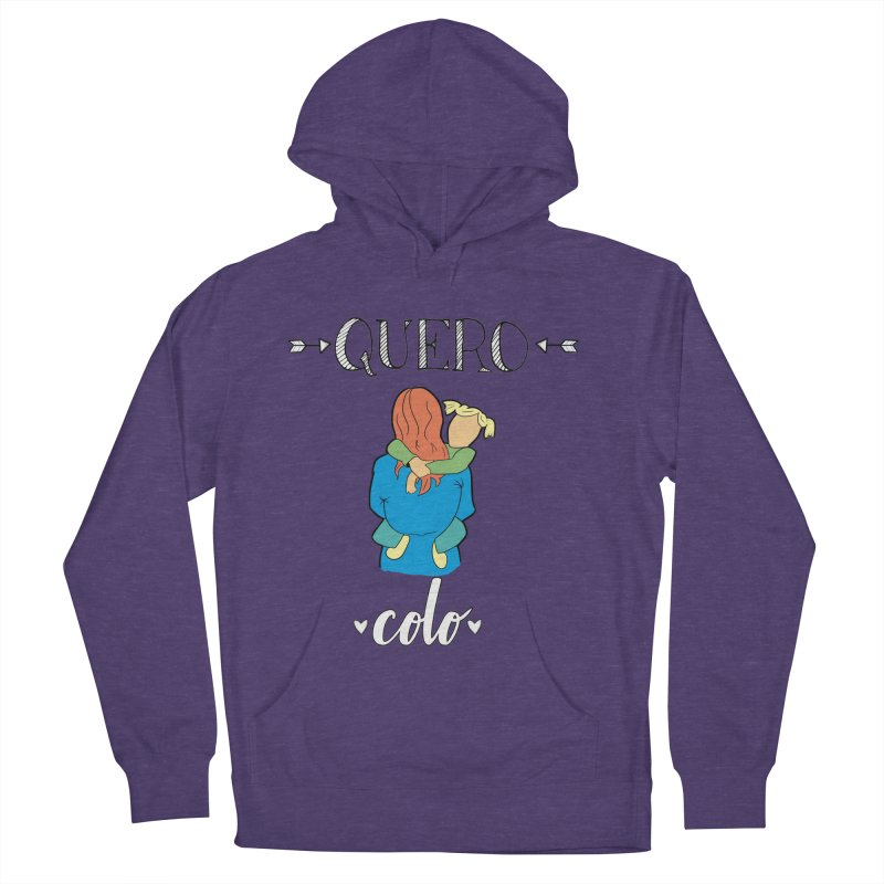 Quero colo Men's French Terry Pullover Hoody by peregraphs's Artist Shop