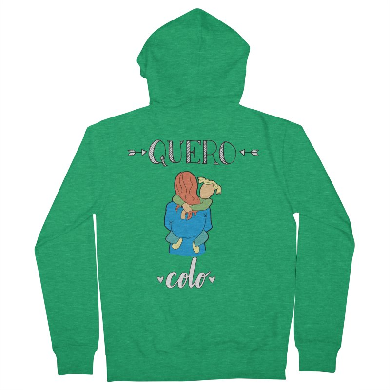 Quero colo Men's Zip-Up Hoody by peregraphs's Artist Shop