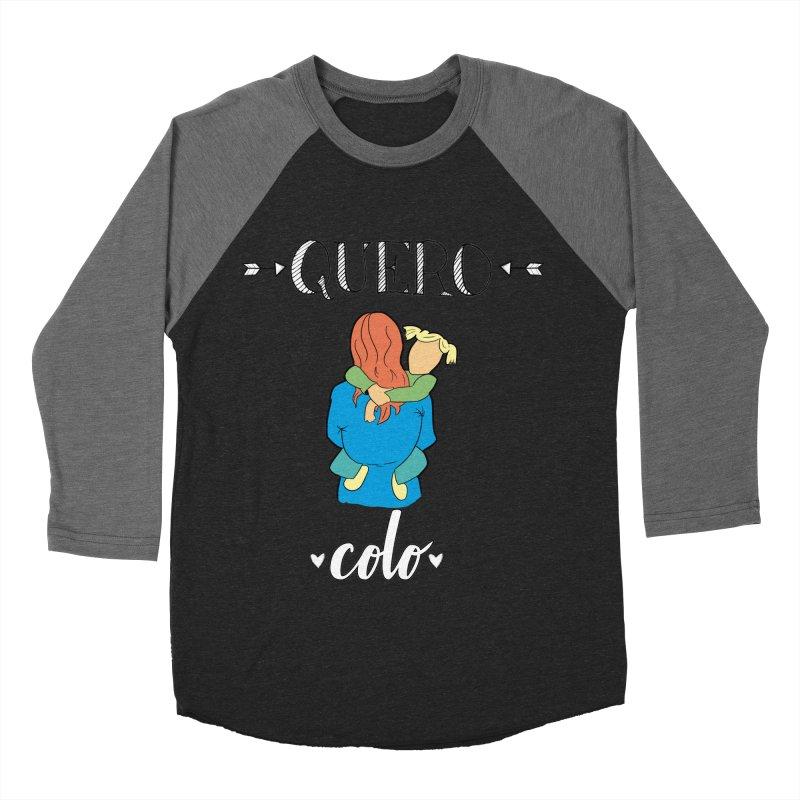 Quero colo Men's Baseball Triblend Longsleeve T-Shirt by peregraphs's Artist Shop