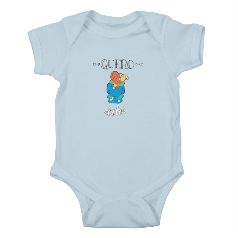 Quero colo Kids Baby Bodysuit by peregraphs's Artist Shop