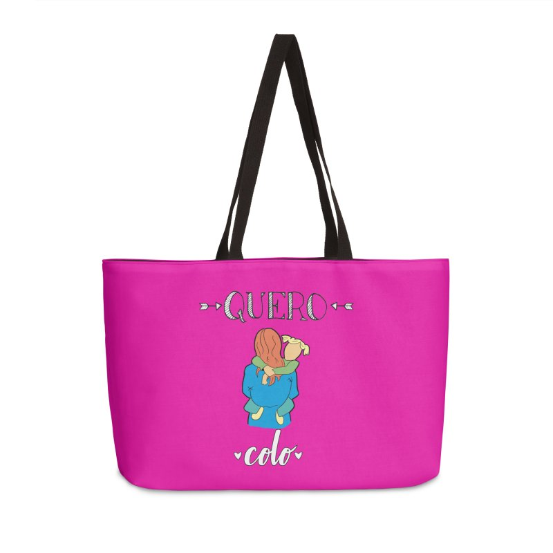 Quero colo Accessories Weekender Bag Bag by peregraphs's Artist Shop