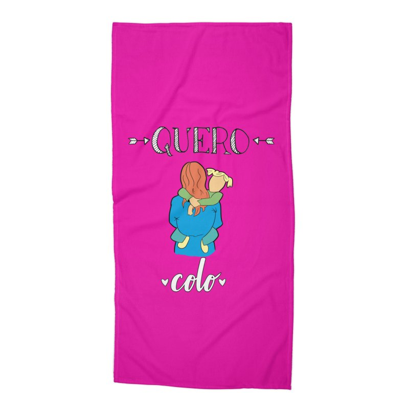 Quero colo Accessories Beach Towel by peregraphs's Artist Shop