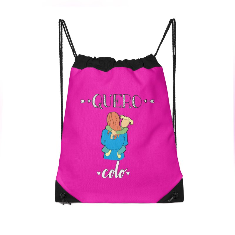 Quero colo Accessories Drawstring Bag Bag by peregraphs's Artist Shop
