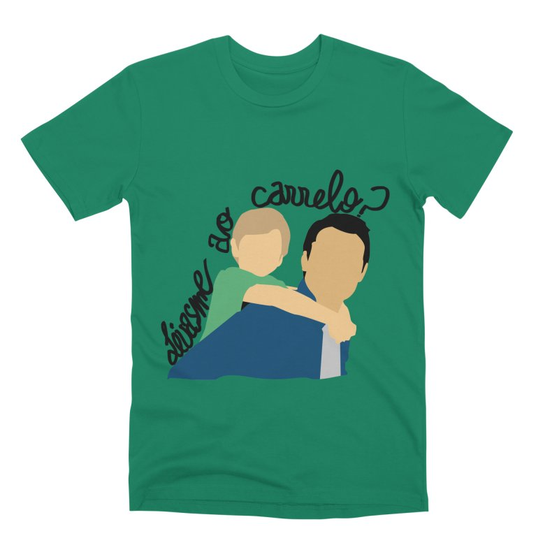 Levasme ao carrelo? Men's Premium T-Shirt by peregraphs's Artist Shop