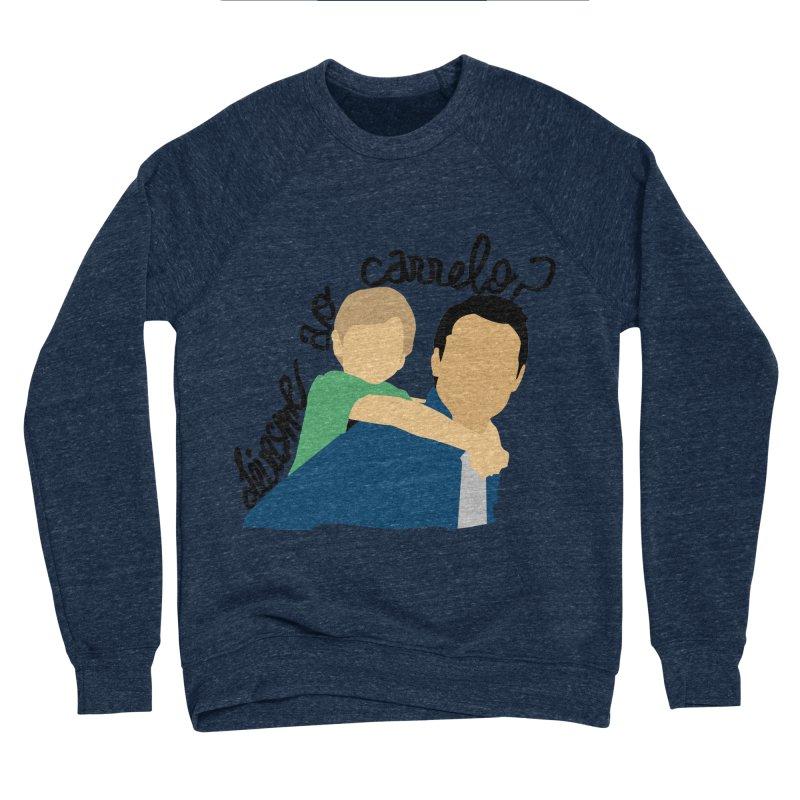 Levasme ao carrelo? Men's Sponge Fleece Sweatshirt by peregraphs's Artist Shop