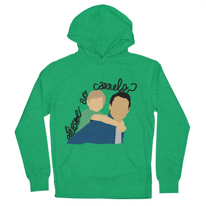 Levasme ao carrelo? Women's French Terry Pullover Hoody by peregraphs's Artist Shop