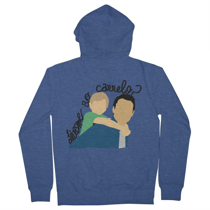 Levasme ao carrelo? Women's French Terry Zip-Up Hoody by peregraphs's Artist Shop