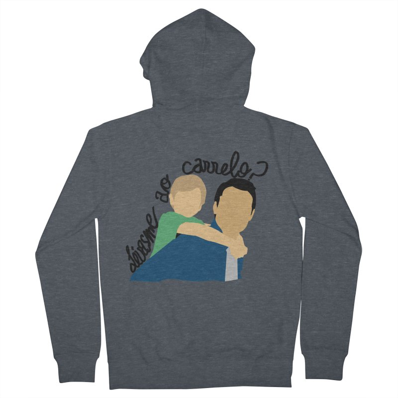 Levasme ao carrelo? Men's French Terry Zip-Up Hoody by peregraphs's Artist Shop