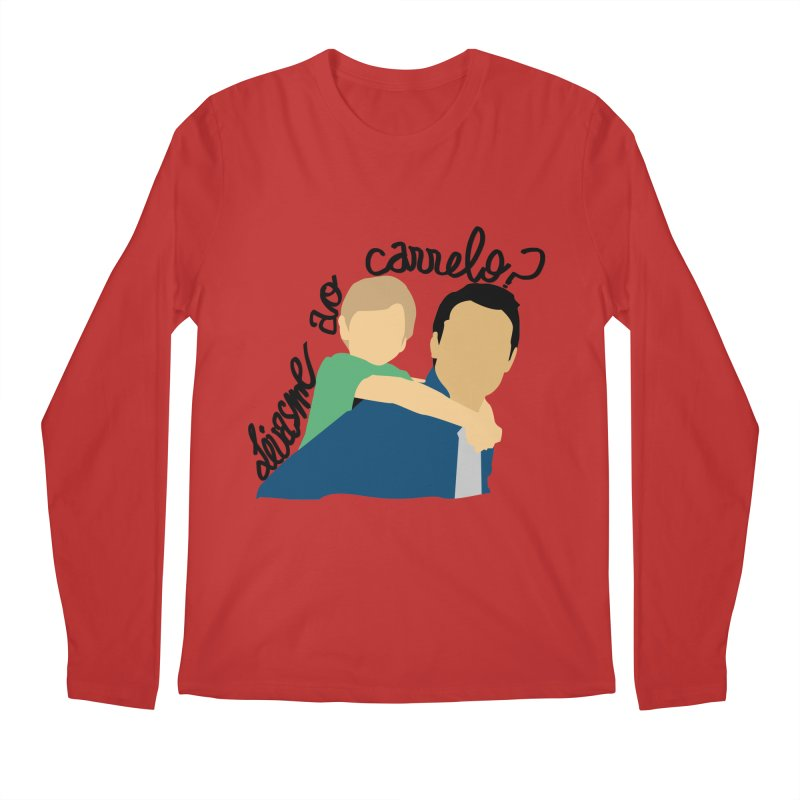 Levasme ao carrelo? Men's Regular Longsleeve T-Shirt by peregraphs's Artist Shop