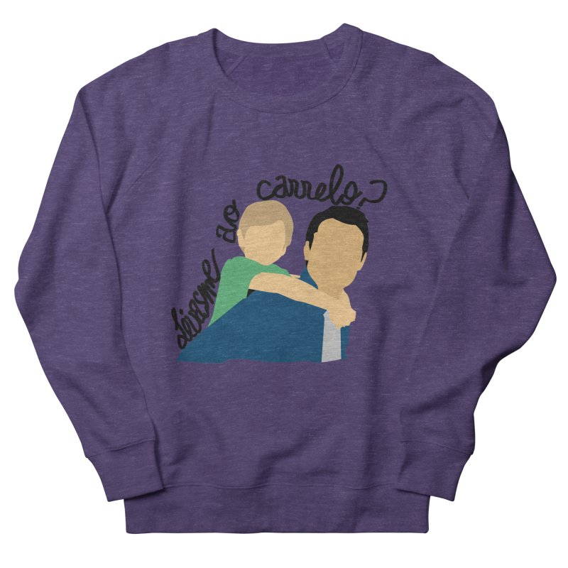 Levasme ao carrelo? Men's French Terry Sweatshirt by peregraphs's Artist Shop