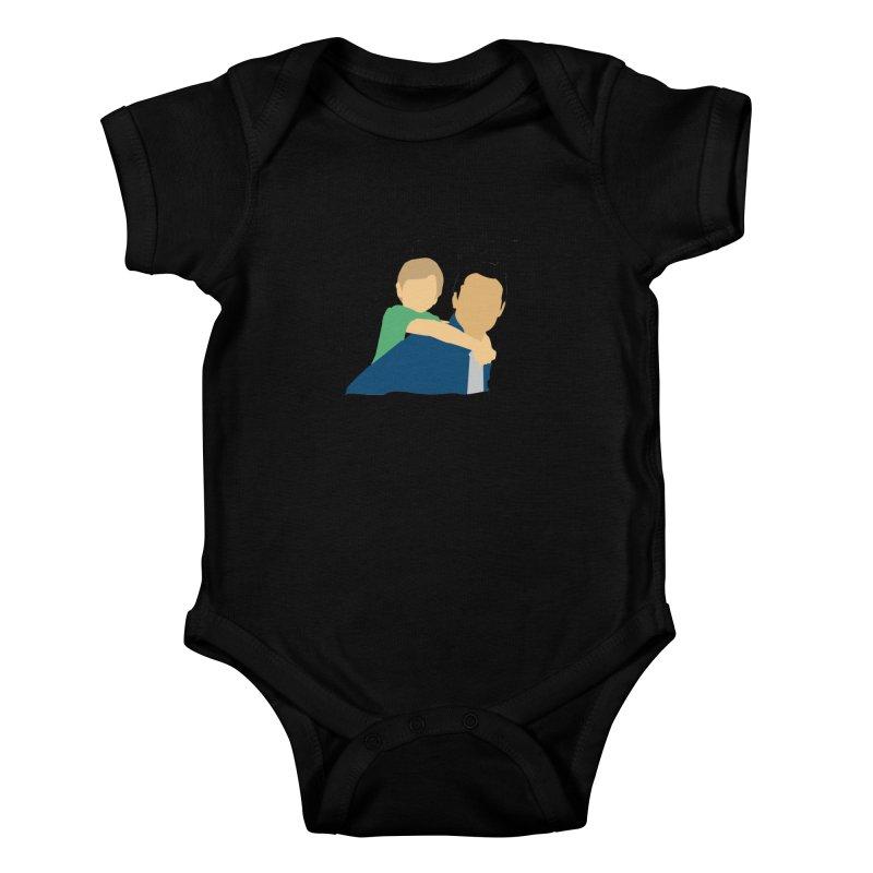 Levasme ao carrelo? Kids Baby Bodysuit by peregraphs's Artist Shop