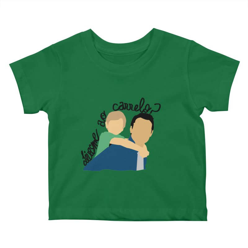 Levasme ao carrelo? Kids Baby T-Shirt by peregraphs's Artist Shop